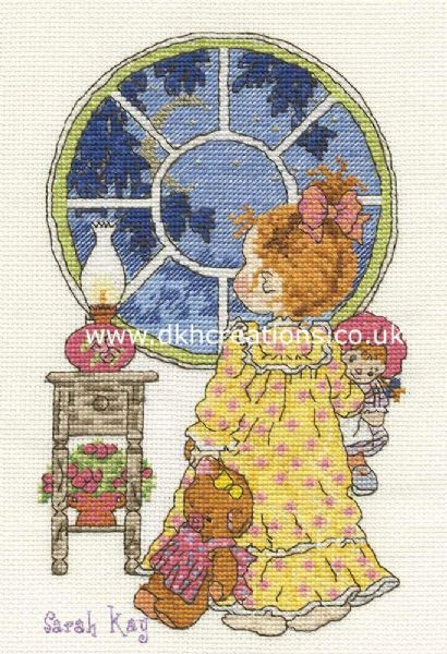 Sarah Kay Bedtime Estelle Cross Stitch Kit